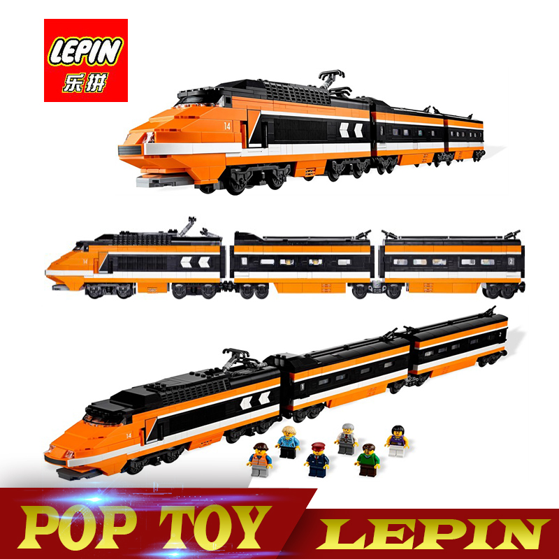 Lepin 21007 Technic Series The Horizon Express Model 10233 Horizon Train Educational Building Blocks Bricks Toys 1351pcs Gift rexartis rexartis 10233