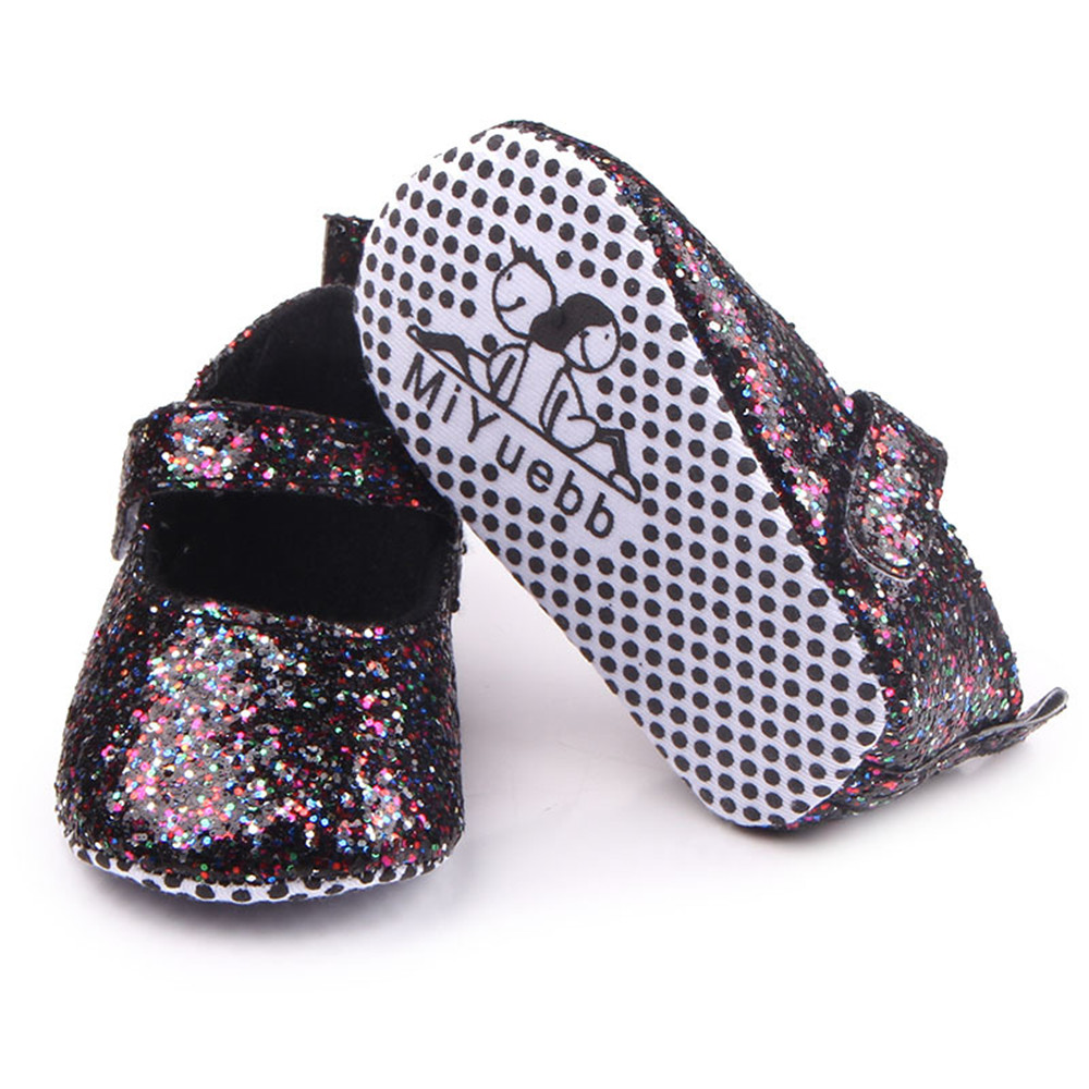 Fashion Sequin Toddler Soft Bottom Footwear Crib Baby Girls Princess Bling  Shoes Ballet Shoes Anti Slip Bebe Zapatos -in First Walkers from Mother    Kids on ... 30112c83a6e7