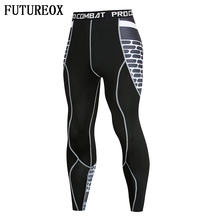 FLASH 3D Printed Leggings Men Pattern Compression Tights Pants 2018 New Arrival Skinny Sweatpants crossfit Fitness Trousers Male(China)