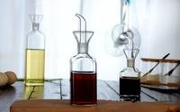 1PC high temperature resistant glass spice bottle oil bottle vinegar bottle soy sauce vinegar cruet kitchen OK 0361