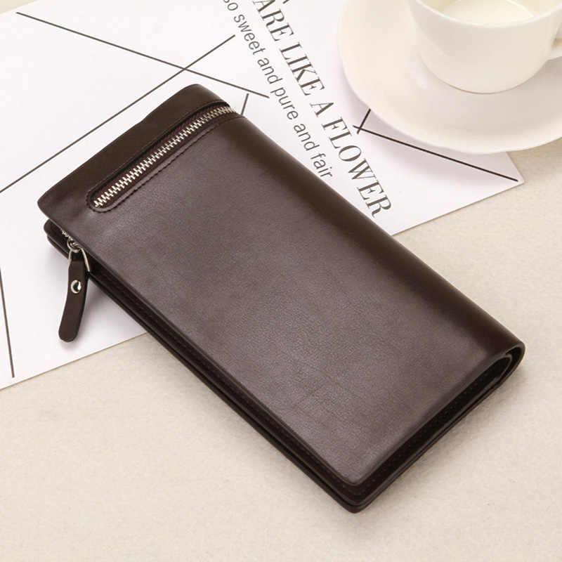 Người Đàn Ông mới của 3 ví gấp Đa-bit thẻ ví Tiền Xu Ly Hợp túi dây kéo người đàn ông Giản Dị sang trọng danh mục đầu tư túi Điện Thoại