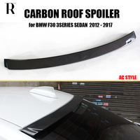 F30 AC Style Carbon Fiber Rear Roof Window Wing Spoiler for BMW F30 320i 328i 330i 335i 320d 325d 328d 2012 2018