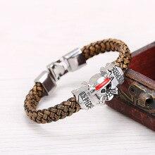 One Piece Luffy Straw Hat Skeleton bracelet