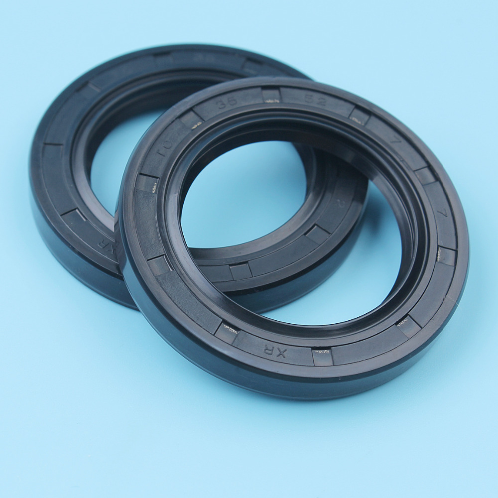 2Pcs/lot Crankshaft Crank Case Oil Seal For HONDA GX340 GX390 188F 190F 11HP 13HP GX 340 390 Engine Motor Trimmer 91201-ZE3-004