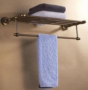 ФОТО freeshipping Antique aluminum towel rack space bathroom towel rack towel bar towel hanging bathroom accessories set