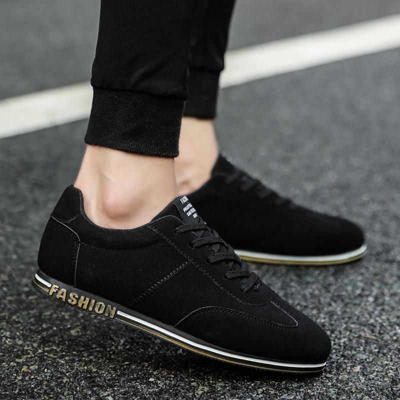 2019 Chaussures gris Printemps Noir Coréenne Hommes Étudiant Des Version Nouveau Conseil rouge La Tendance Sauvage De Sport BpprUn