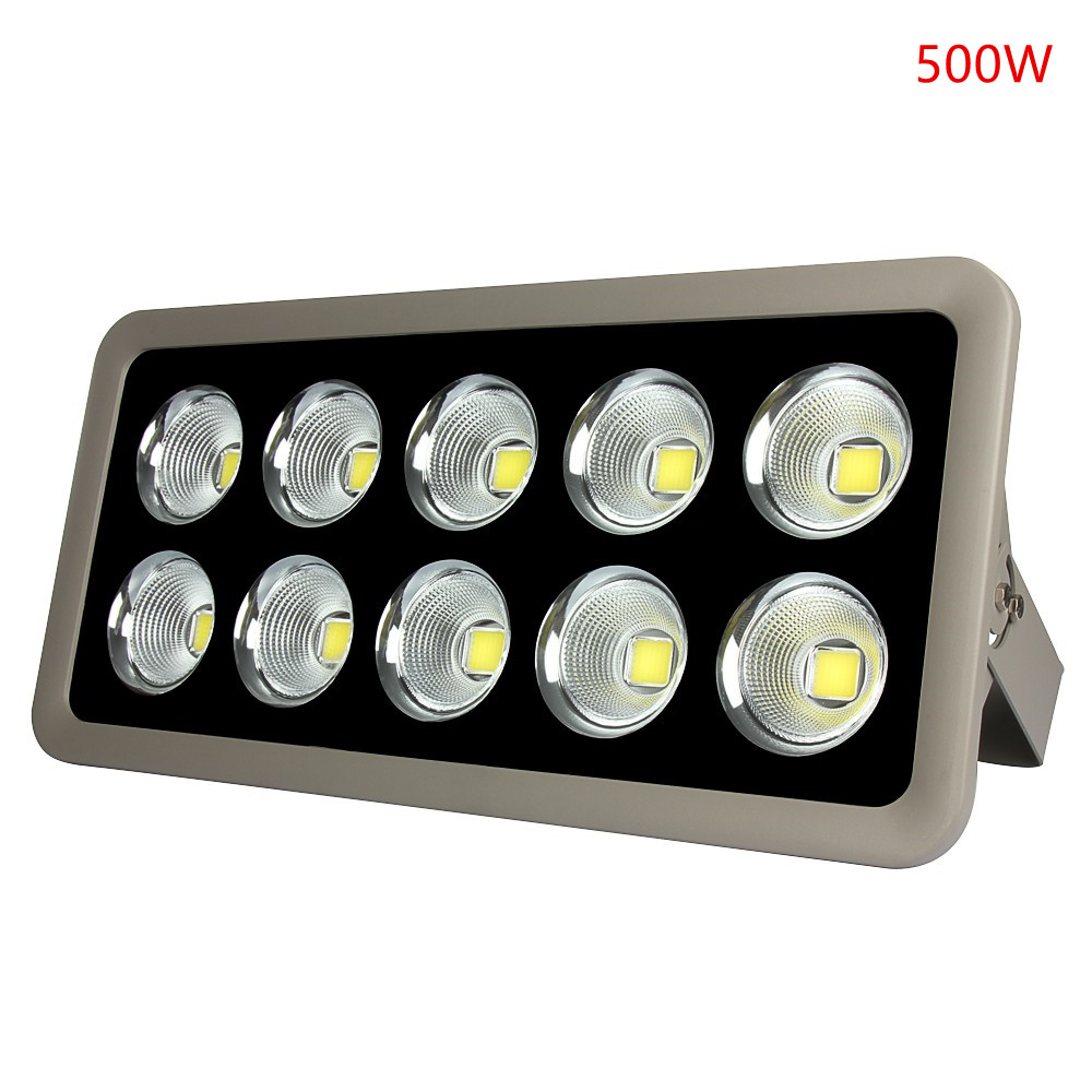 LED Floodlight AC 85-265V COB 200W 300W 400W 500W Reflector Flood Lighting Spotlight  Waterproof Outdoor Gargen Lamp ultrathin led flood light 200w ac85 265v waterproof ip65 floodlight spotlight outdoor lighting free shipping