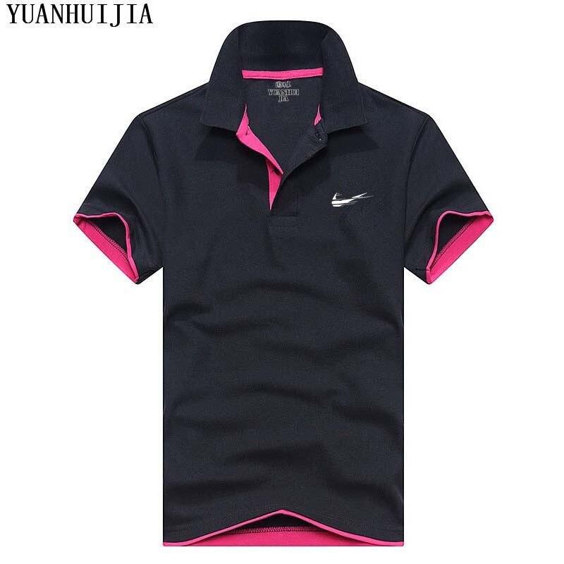 New Brand JUST Mens   Polo   Shirt For Men Desiger   Polos   Men Cotton Short Sleeve shirt Clothes jerseys golftennis Plus Size S- XXXL