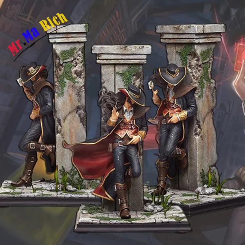 31cm Twisted Fate Drizzt Card Master The original skin 23cm PVC GK Action Figures Toys Model image