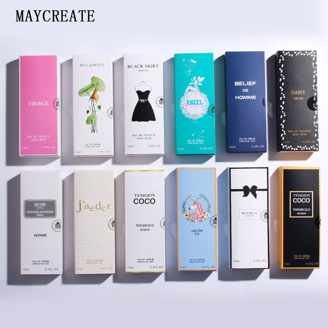 MayCreate 12ml parfum sample men mujer Liquid Antiperspirant women Flowers Fragrance mini Sweat Deodorant perfum with Pheromones 1