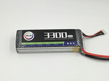 MOS 2S RC airplane lipo battery 7.4v 3300mAh 25C For rc helicopter rc car rc boat quadcopter Li-Polymer battey 2s