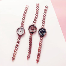 Cold Wind Simple Chic Retro Atmosphere Thin Band Bracelet Literary Wild Temperament Female Watch