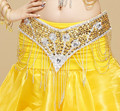 Belly Dance Costumes High Quality Belly Dancing Hip Scarf Waistband Skirt Belt Beads Belly Dancer  Hip Scarf Wrap Belt Skirt 18