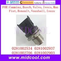 New Fuel Rail Pressure Sensor OEM 0281002534 0281002937 0281002706 0281002903 46812910 2T2919333 3949988 46812910 93177365