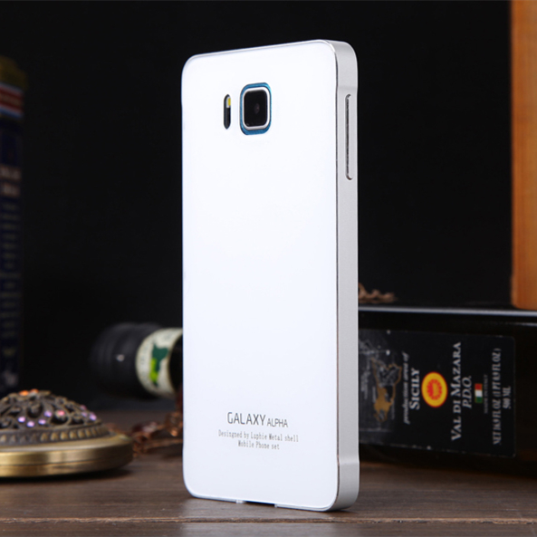 For Samsung Galaxy G8508s Alpha Mobile Phone Sets Of Mobile Phone Shell For  Alfa Metal Frame Acrylic Cover on Aliexpress.com | Alibaba Group