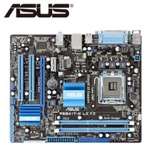 Asus P5G41T-M LX V2 placa base de escritorio G41 Socket LGA 775 Q8200 Q8300 DDR3 8G u ATX UEFI BIOS Original utilizado placa base en venta(China)