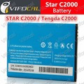 2800Mah Battery for STAR C2000 / Tengda C2000 Smart Mobile Phone + Tracking Number - In Stock