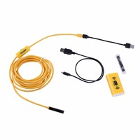 F130 HD 1200P Adjustable 8 LEDs Wifi Endoscope Camera 8 0mm IP68 Hard Cable With Multi