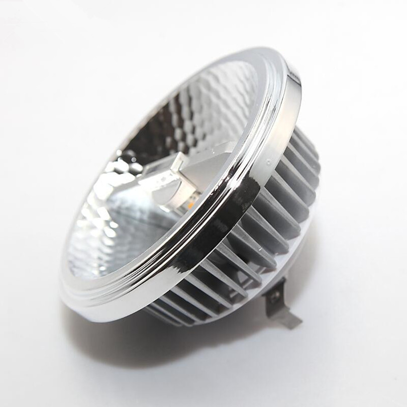 High Power 16pcs Dimmable LED Lighting 20W COB G53 GU10 AR111 QR111 LED Spotlight Warm Natural