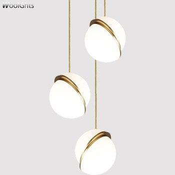 Wooights Nordic Glod Glas Bälle Nordic Loft Anhänger Lichter Für Wohnzimmer Droplight Schnur Glas Nordic Anhänger Lichter