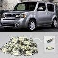 Car-Styling Envío Gratis!! #08 7x luces blancas led interior dome light paquete kit para honda accord nissan cube toyota matrix