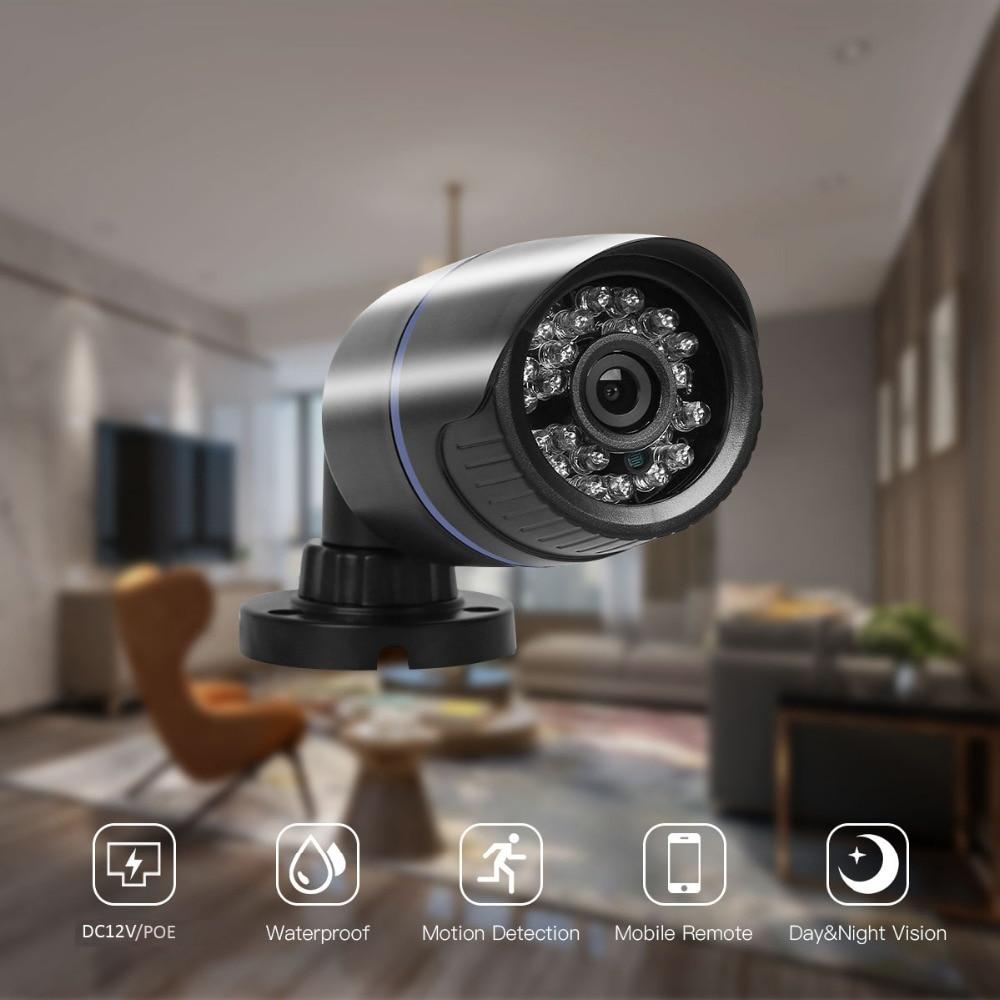 H.265 2MP HD 1080P 25fps IP Camera XM530AI IP65 Video Network 3IR onvif Security