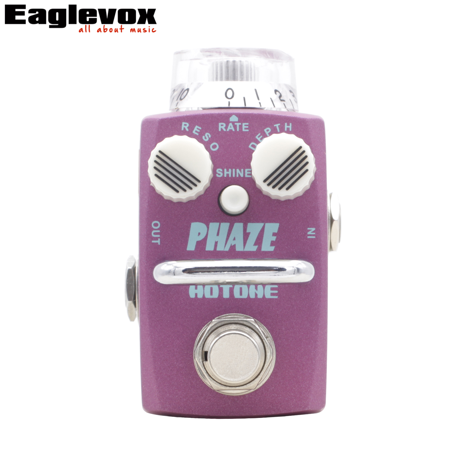Hotone Phaze Analog Phaser Pedal for Guitar Effect True Bypass guitar effects guitar pedal Analog Phaser mooer ninety orange phaser guitar effect pedal micro analog effects true bypass with free connector and footswitch topper