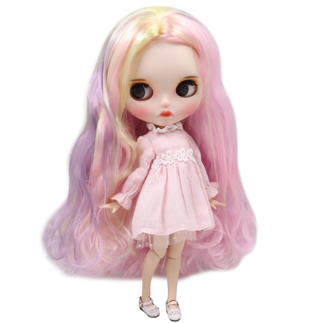 ICY Neo Blythe Doll Ice Cream Hair Jointed Body 30cm