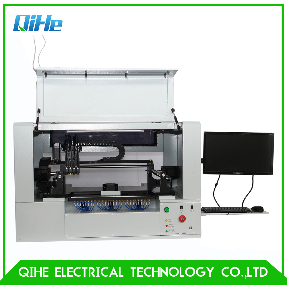Welding Nozzles Welding & Soldering Supplies Low Cost Smt Chip Mounter High Precision Smt Lighting Production Led Assembly Line Double Vision Smd Pick And Place Machine