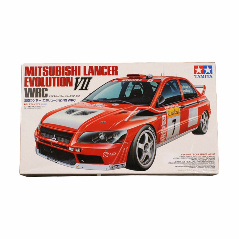 OHS Tamiya 24257 1/24 Lancer Evolution VII Evo7 Rally Car Assembly ...