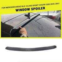 Carbon Fiber Rear Roof Spoiler Cửa Sổ Lip Wing cho Mercedes Benz GLE-Class GLE320 GLE400 GLE450 GLE500 Thể Thao-Door 2015-2017
