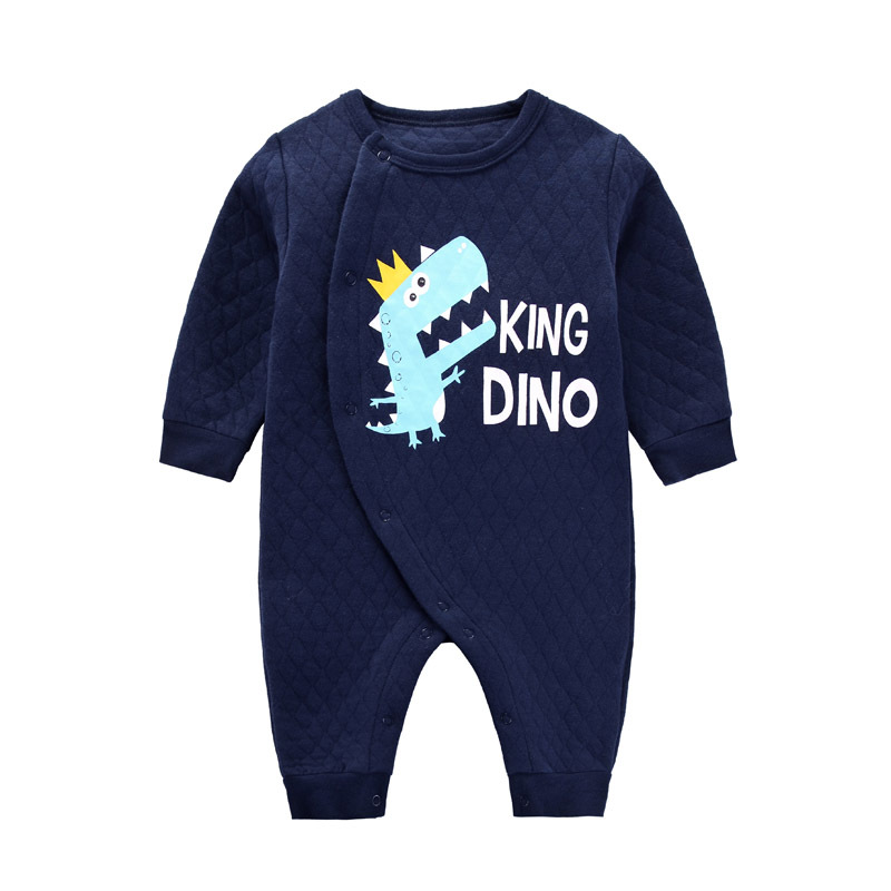 CalaBob Baby Girl Clothes Long Sleeve Cotton Baby Boy Rompers Newborn Jumpsuits Cute Cartoon Animal Baby Costume Infant Clothing