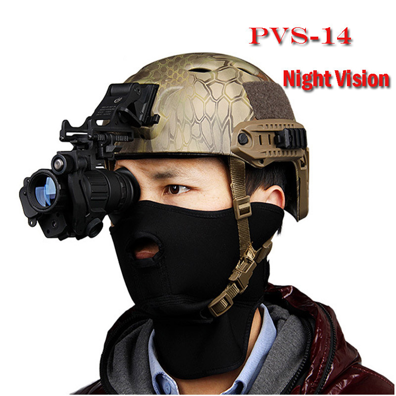 Tactical HD infrared PVS-14 Digital Night Vision Monocular Scope Device for Hunting