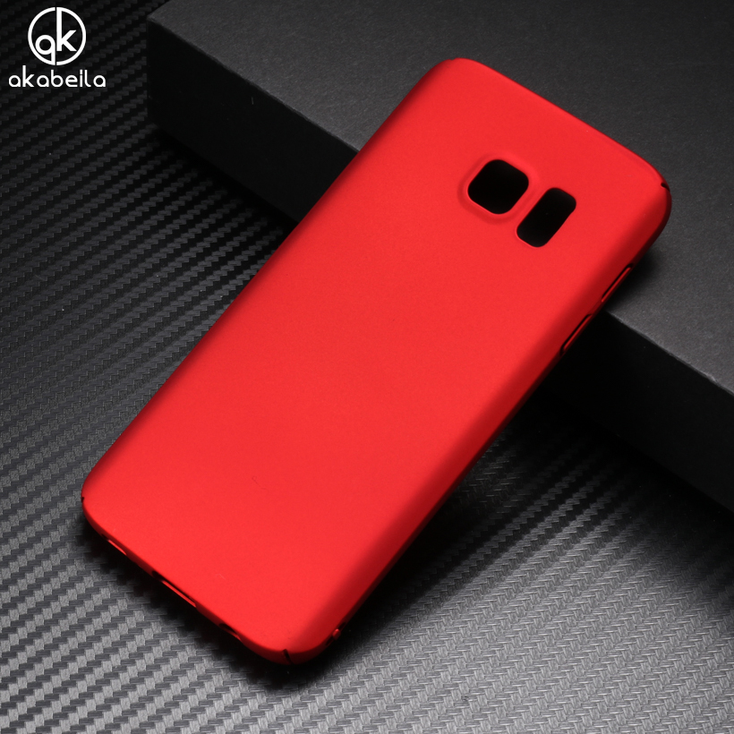 AKABEILA Hard Cases For Samsung Galaxy S6 SVI Case Ultra Thin Cover G920F G920FD G920FQ G920 Back Case Capa Fundas Coque Housing