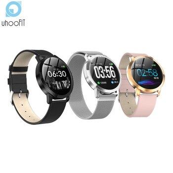 Uhoofit Smart Watch Men Women Pedometer sports Clock heart rate monitor fitness tracker waterproof smartwatch for IOS Android