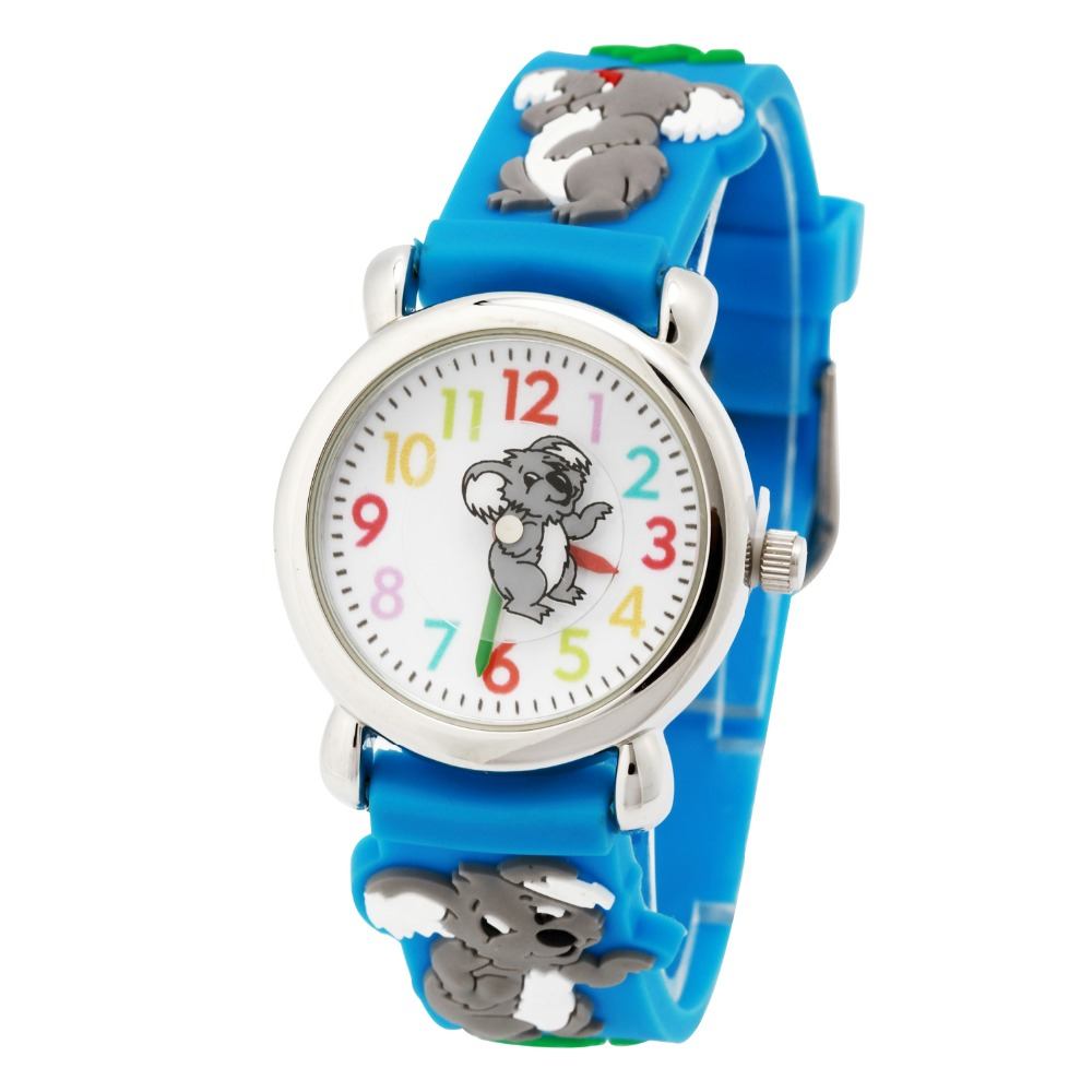New Arrival Kid Watches Children Best Gift Silicone Wristwatches Koala Brand Quartz Wrist Watch Fashion Casual Relogio