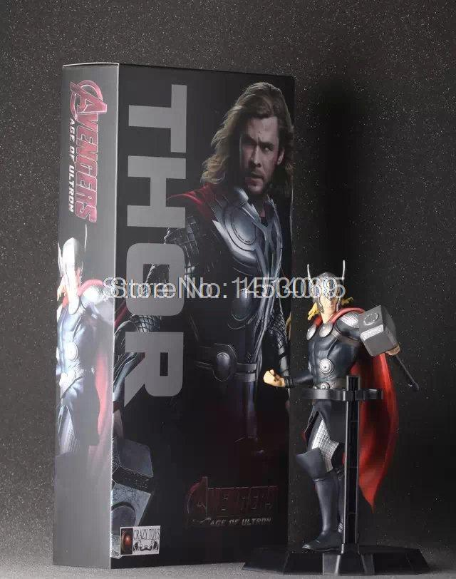 Avengers II Super Hero Thor 7 PVC Action Figure Collectible Model Toy Doll new hot 17cm avengers thor action figure toys collection christmas gift doll with box j h a c g