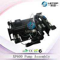 eco solvent xp600 double head oil pump assembly for solvent printer