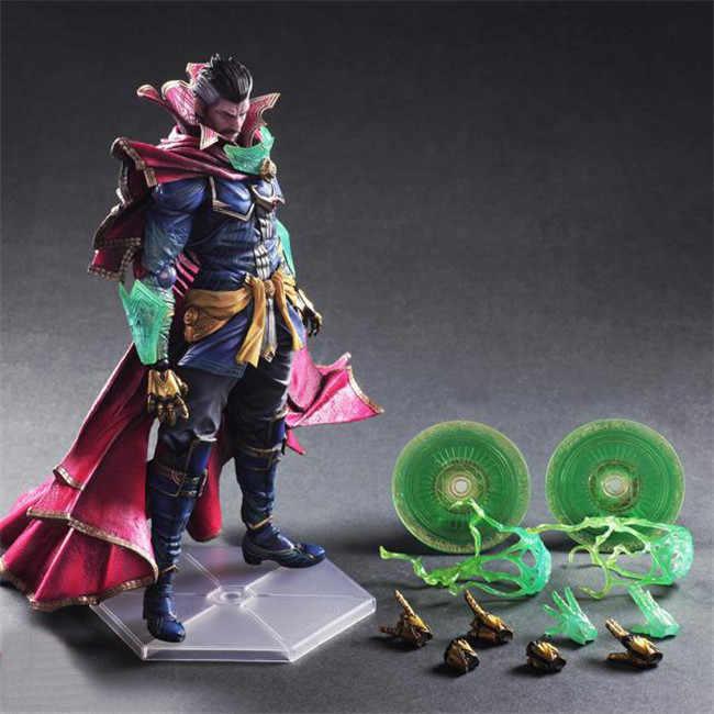 Jogar Arts Kai Doutor Estranho Figura Infinito Guerra Stephen Estranho Jogar Arte KAI 26 cm Boneca de Brinquedo Figura de Ação DO PVC