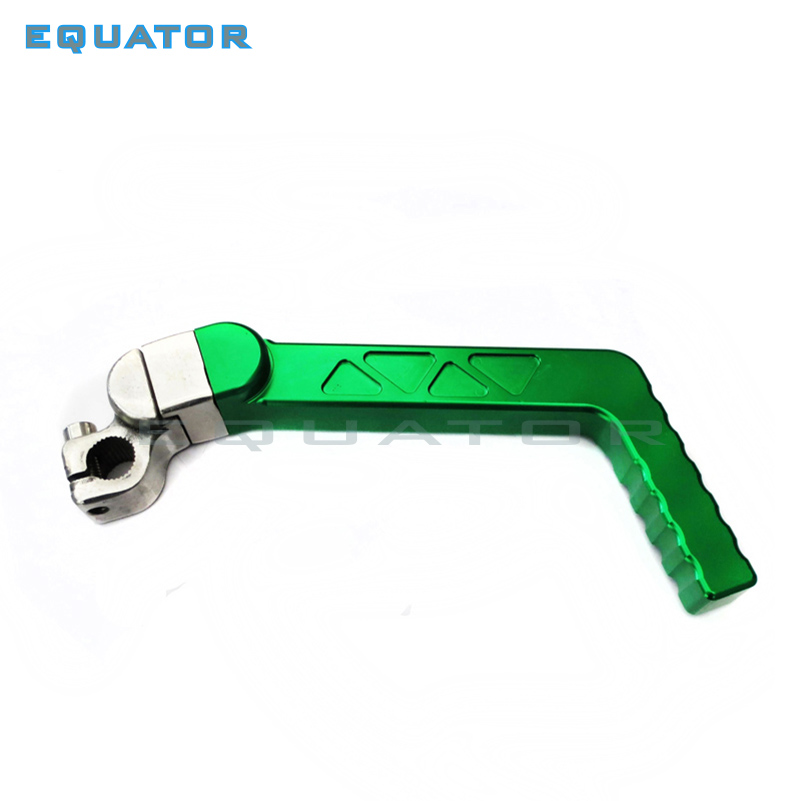 Motorcycle dirt pit parts CNC Kick Start Starter Lever 13mm mounting hole For 50cc 110cc 125cc CRF XR YX Pit Dirt Bike