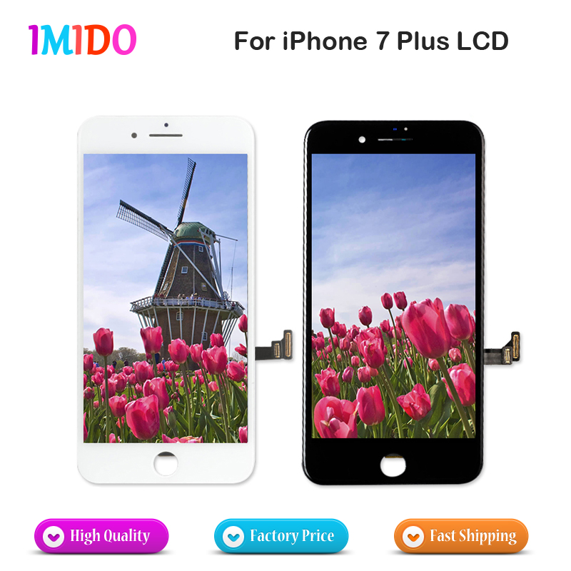 20 PCS LCD For iPhone 7 Plus LCD Display Touch Screen Digitizer Assembly No Dead Pixel