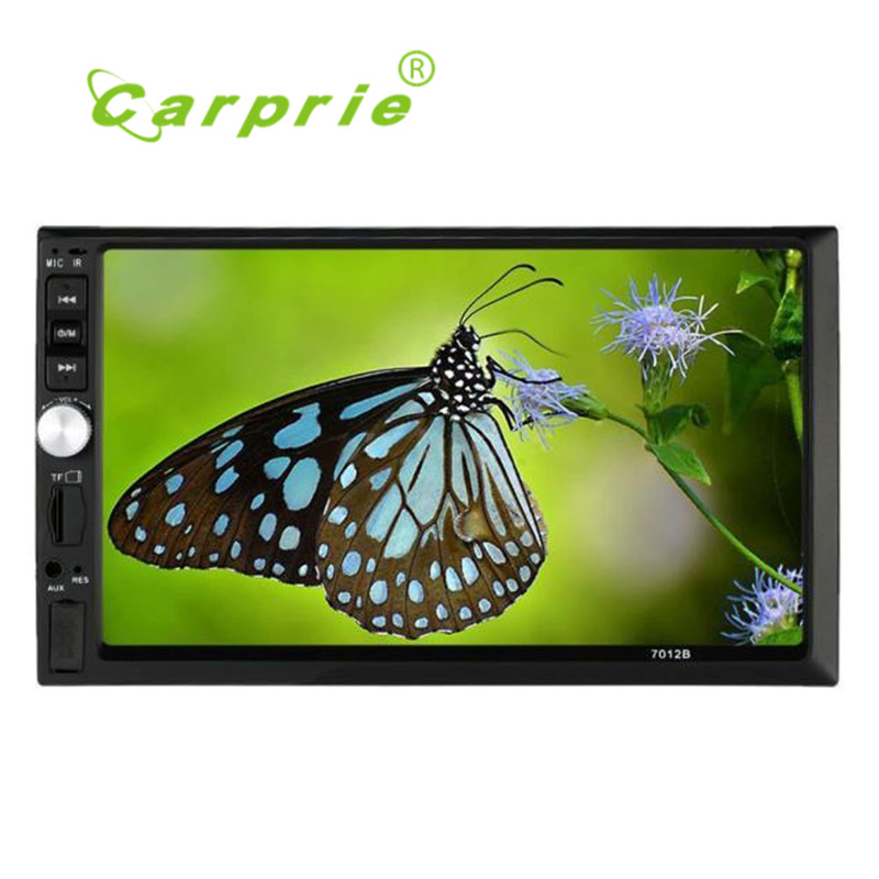 2017 new Double 2 Din Car Stereo MP5 MP3 Player Radio Bluetooth USB AUX + Parking Camera quality gift june13 7 hd 2din car stereo bluetooth mp5 player gps navigation support tf usb aux fm radio rearview camera fm radio usb tf aux