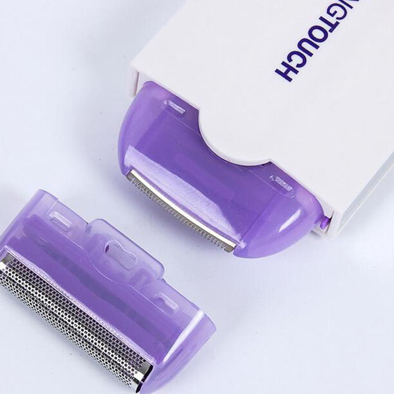 USB Rechargeable EpilatorHair Remover Hair Removal Laser Sensor Light Safely Shaver for Face Body Hair Trimmer