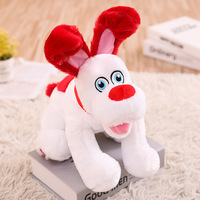 Electronic Pets Lovely Cartoon Robot Dog Cute Interactive Dog Walking Barking Musical Electronic Dog Toys For Kids