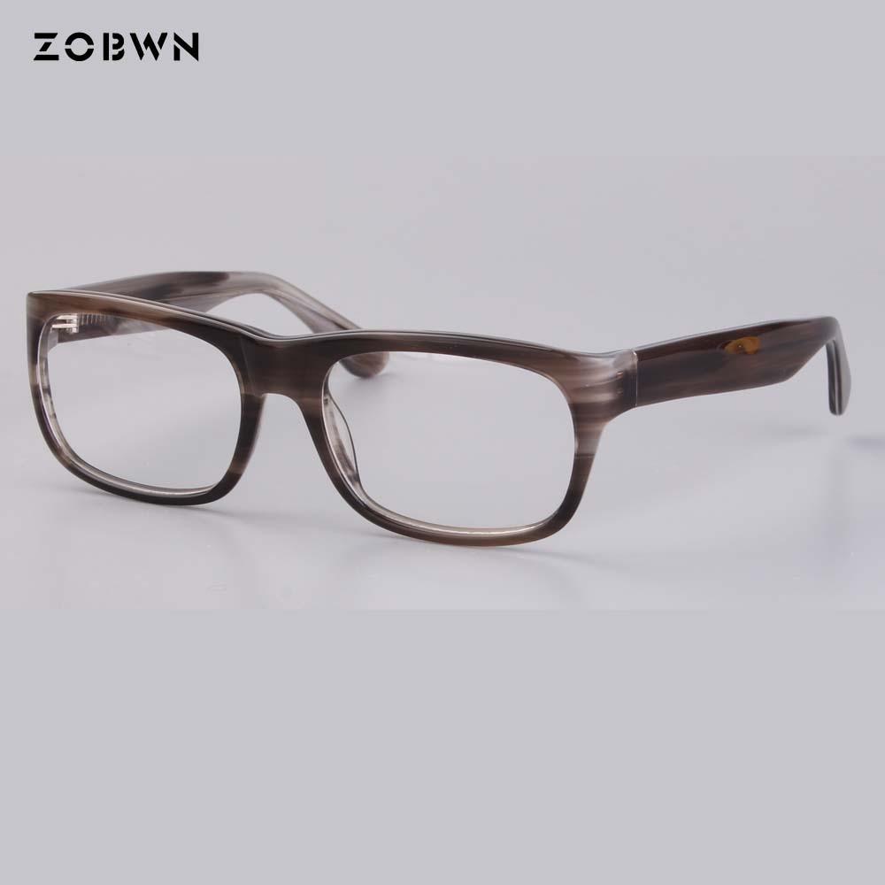 ZOBWN new arrival famous design Clear Lens Glasses Frame Women Fashion Oversized Spectacle Optical Eyeglasses unisex gafas