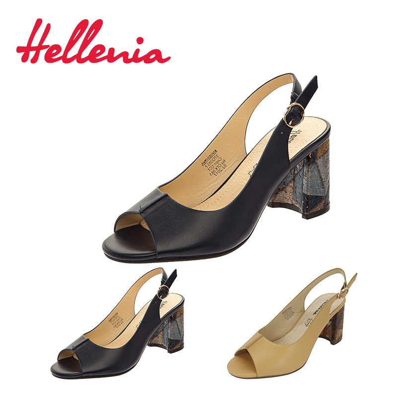 Hellenia new arrive Brand womens shoes women sandal back strap fashion summer shoe peep toe thick heel Party classic footwear 2018 summer new arrived strap design wedges women sandals peep toe comfort mid heel sexy lady sandal fashion student casual shoe