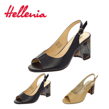 Купить с кэшбэком Hellenia new arrive Brand womens shoes women sandal back strap fashion summer shoe peep toe thick heel Party classic footwear