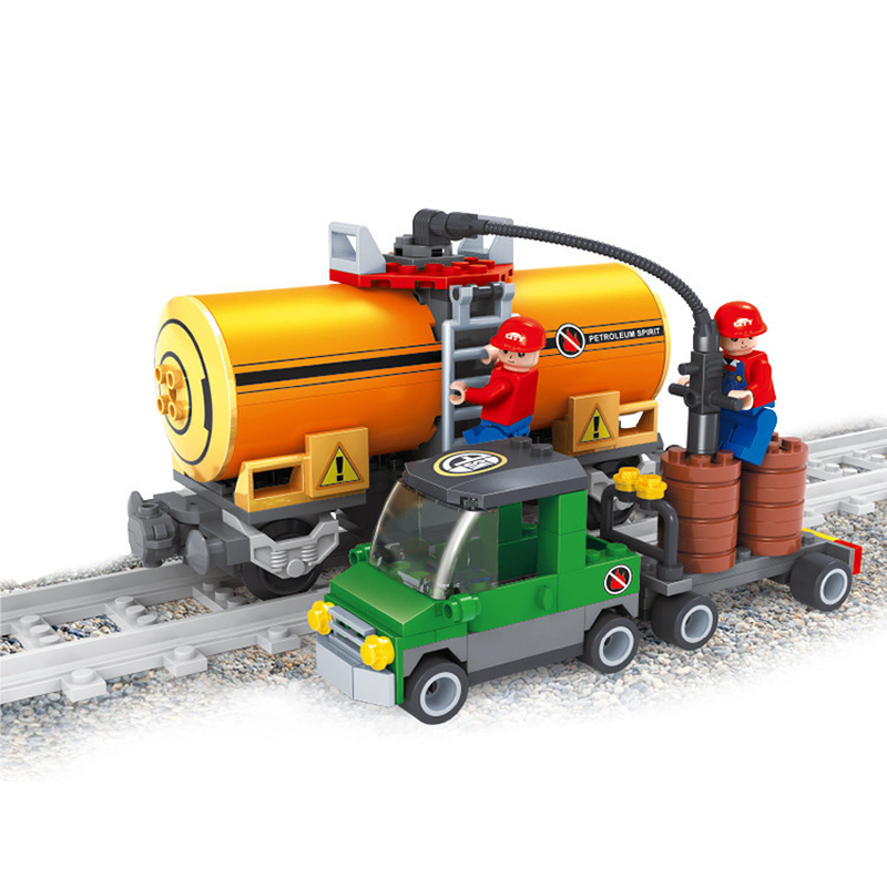 Blocks Generous Compatible With Legoings City 25414 Model Building Kits Train 3d Blocks Educational Model & Building Toys Hobbies For Children Goods Of Every Description Are Available Model Building