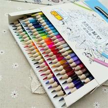 72 Colors Pencils Natural wood colored Pencils Professional Drawing Pencils for School