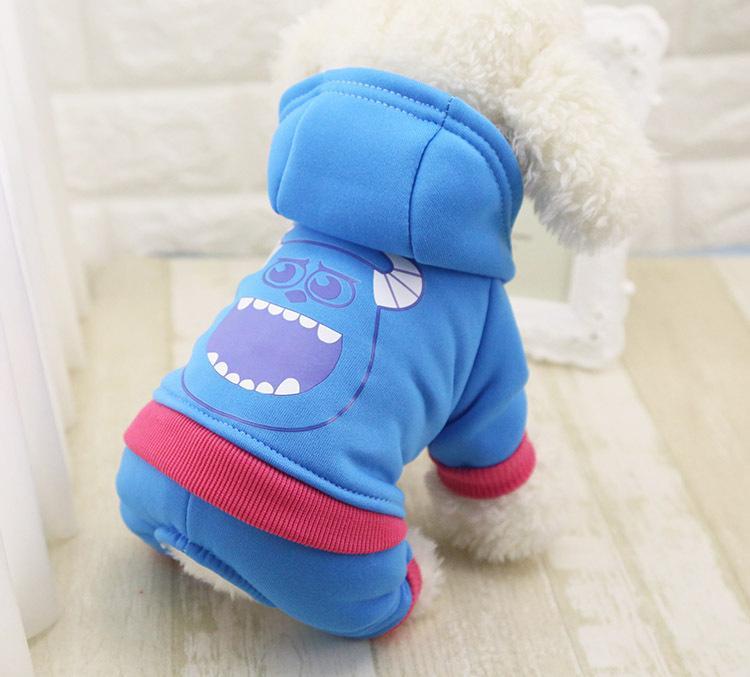 Survêtements très mignons pour votre chien ou chiot Monstre & Cie